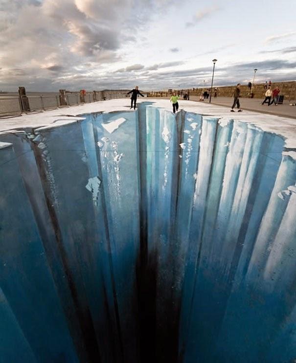 Ilusi Optik Seni Jalanan Paling Menakjubkan